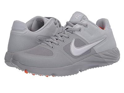 Nike Alpha Huarache Elite 2 Turf (Wolf Grey/White/Pure Platinum) Men