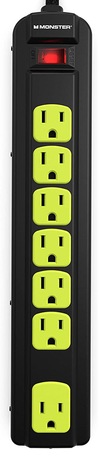 Monster SALENEW very popular! Power Strip Surge Protector with Ports Heavy - Duty USB sale