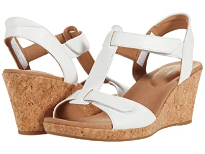 Rockport Blanca T Strap (White) Women