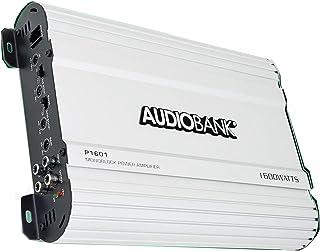 $62 » Audiobank Monoblock 1600 WATTS Amp Class AB Car Audio Stereo Amplifier P1601 Heavy-Duty Aluminum Alloy Heatsink, Class A-B...