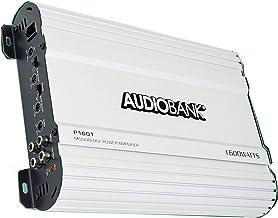 Audiobank Monoblock 1600 WATTS Amp Class AB Car Audio Stereo Amplifier P1601 Heavy-Duty Aluminum Alloy Heatsink, Class A-B...