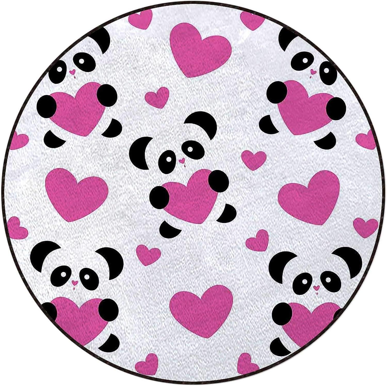 Love Pandas Hearts Office Swivel online shopping Home Mat Industry No. 1 Floor Pro Chair