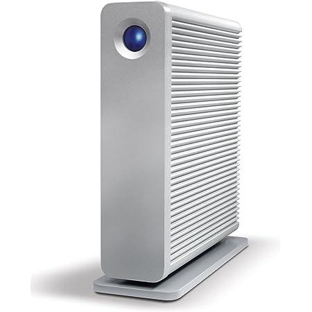 LaCie HDD 外付けハードディスク 3TB USB3.0 FireWire800 eSata Mac対応 d2Quadra LCH-D2Q030Q3