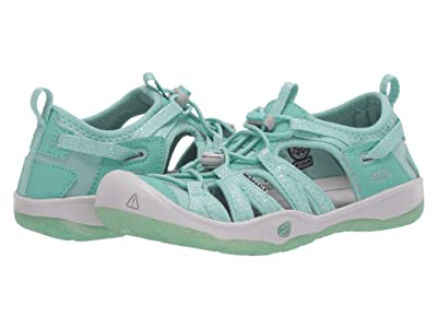 Keen Kids Moxie Sandal (Little Kid/Big Kid) (Ocean Wave/Vapor) Girl