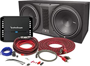 Rockford Fosgate Punch P300X1 Mono subwoofer Amplifier with P1-2X10 10