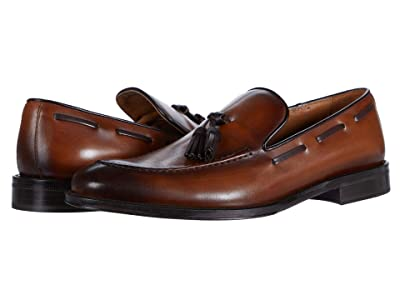 Bruno Magli Alfio (Cognac Algar Calf) Men
