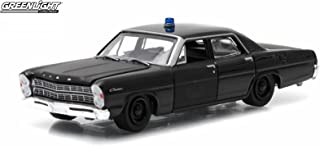 Greenlight 1967 Ford Custom Black Bandit Collection Series 12 2015 Collectibles Limited Edition 1:64 Scale Die-Cast Vehicle