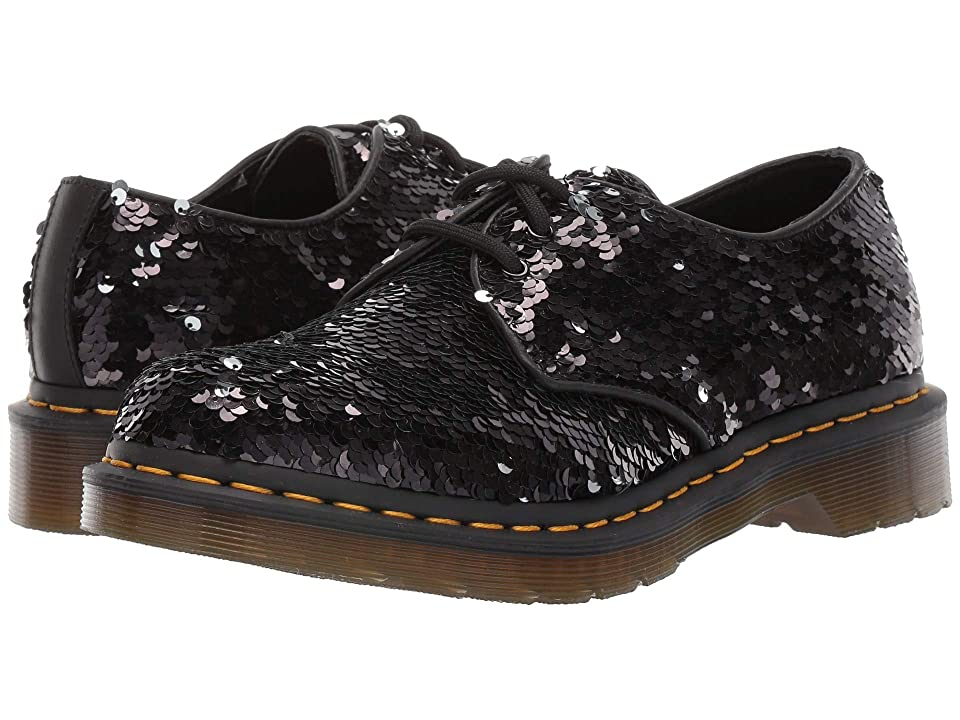 Dr. Martens 1461 Sequin (Black/Silver) Women