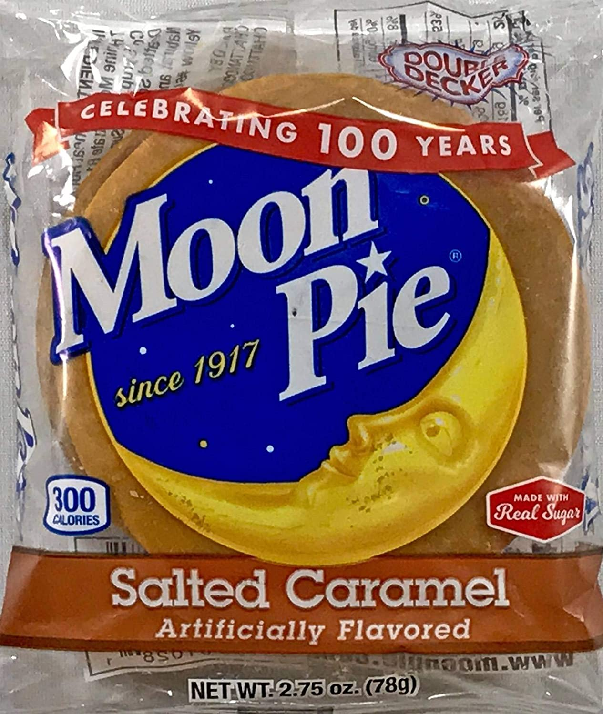 Moon Pie Salted Caramel Double Max 85% OFF Sandwich Marshmallow Decker 40% OFF Cheap Sale 2.75