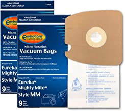 EnviroCare Replacement Micro Filtration Vacuum Bags for Eureka Style MM. Replaces Part# 60295C (Mighty Mite Vacuums) 18 Pack