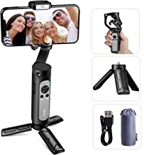 Hohem iSteady X Gimbal Stabilizer for Smartphone, Lightweight and Foldable Phone Stabilizer for Smooth Shooting & Stable Video Recording, 3Axis Handheld Stabilizer Compatible with iPhone and Android