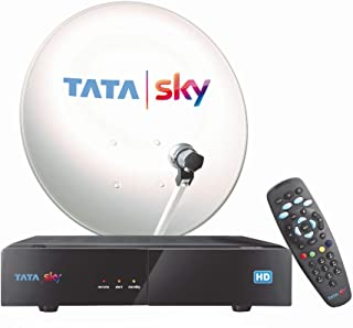 Tata Sky HD Set Top Box with One Month Telugu Basic HD Pack   Free Rs 7000 Voucher