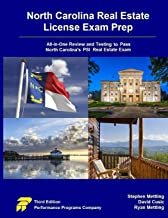 North Carolina Real Estate License Exam Prep: All-in-One Review and Testing to Pass North Carolina's PSI Real Estate Exam