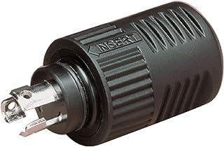 Marinco Pro 12VBP 3-Wire ConnectPro Plug (1 Item),Black