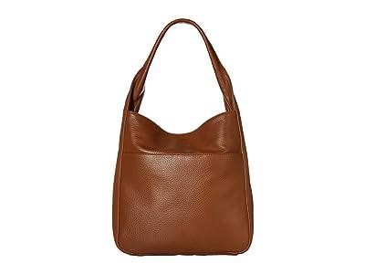Shinola Detroit Cass Hobo (Cognac) Handbags