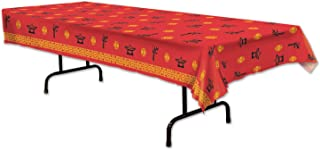 Beistle Asian Tablecover | Chinese New Year, Asian Party Decorations (3-Pack)