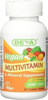 Deva Vegan Multivitamin & Mineral One Daily 90 Tablets