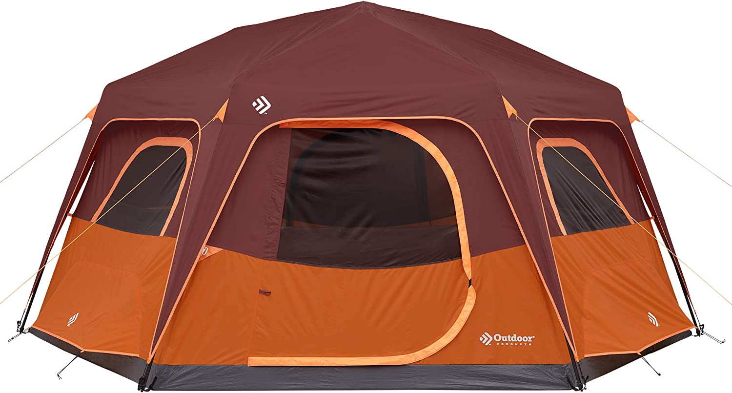 Outdoor Products 8 trend rank Person Instant Built-in Super Special SALE held Lig Tent with Hexagon