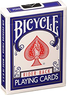 Bicycle Rider Back Index Playing Cards 1 pcs  ( blue)