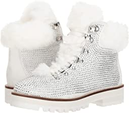 5d5b692f86 White Faux Suede/Plush Faux Fur. 8. Jessica Simpson