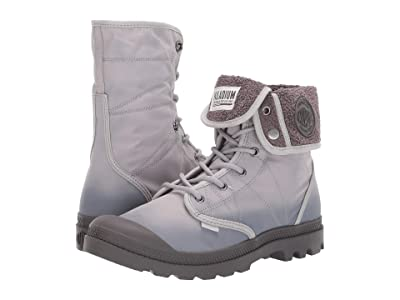 Palladium Pallabrousse Baggy TX (Ash/Dark Gull Grey) Lace-up Boots
