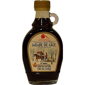 WINNETOU | Jarabe de arce 100% natural | Maple Syrup | Canadá #2 Ámbar / Grado C | 250 g