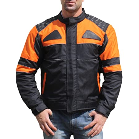 Roleff Racewear Ro607 Kurze Mesh Sommer Motorradjacke Schwarz Größe Xxl Auto