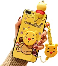Cute iPhone 8 Plus Case/iPhone 7 Plus Cartoon Case for Kids Girls, 3D Animal Character Cover Case for Apple iPhone 7 Plus, iPhone 8 Plus 5.5
