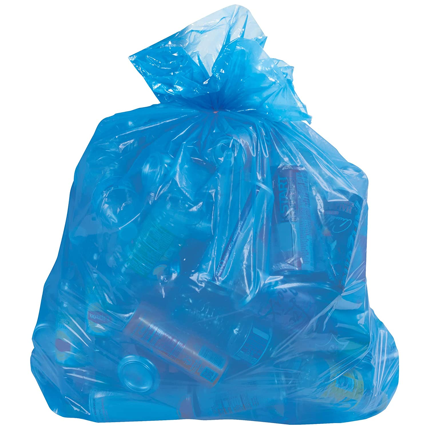 Blue Industry No. 1 Recycling Trash Liner 55-60 Gallon Cas 1.4 Ranking TOP16 Mil 100