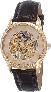 YONGER&BRESSON - Yonger & Bresson YBH 8525-33 - Reloj de Pulsera Hombre, Piel, Color marrón