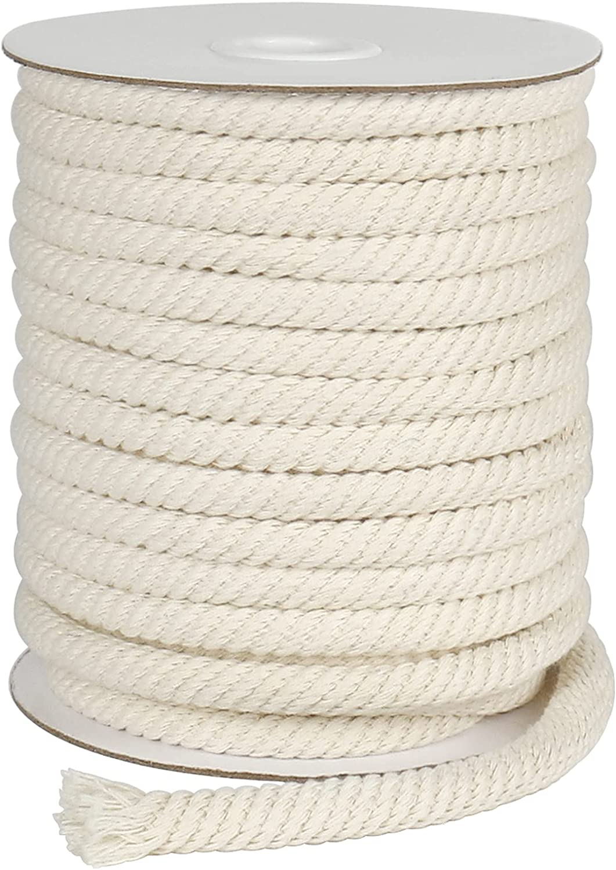 Tenn Well 8mm Cotton Rope Braided Seattle Mall Feet Genuine Cord 66 Multifunctional