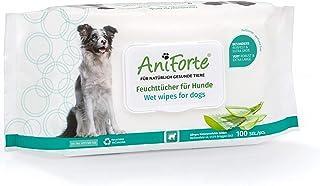 AniForte Toallitas de aseo AniForte para perros 100 piezas