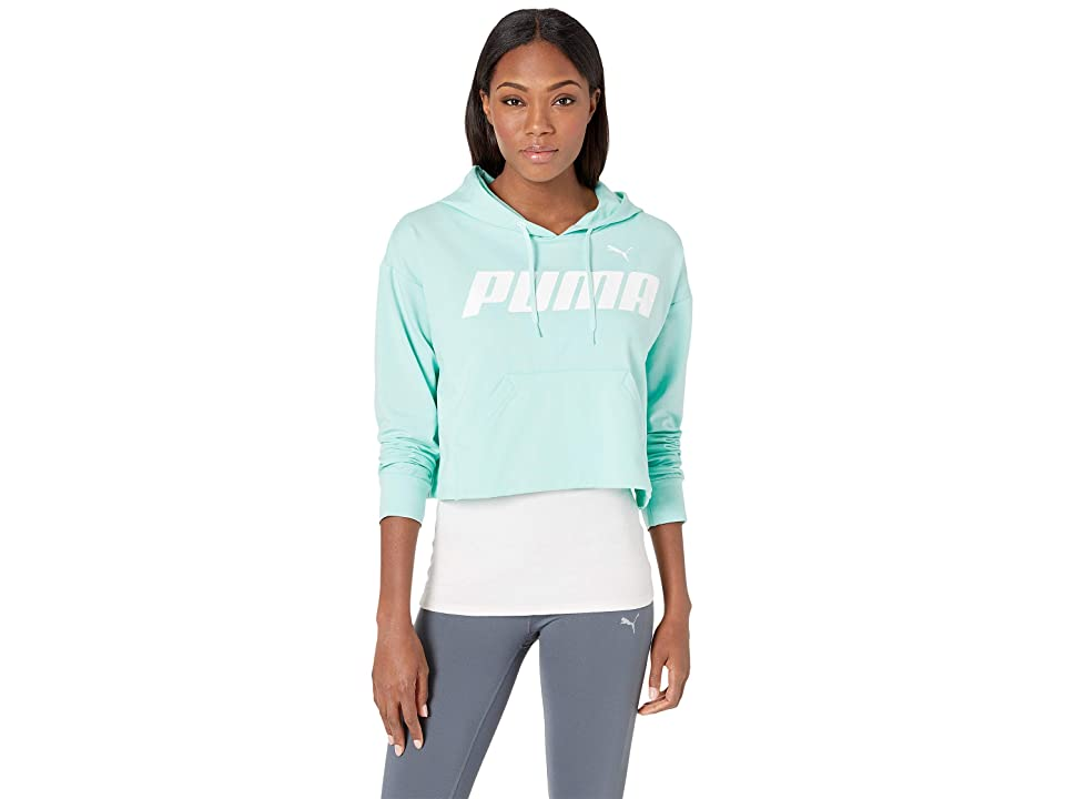 PUMA Modern Sports Hoodie (Fair Aqua) Women