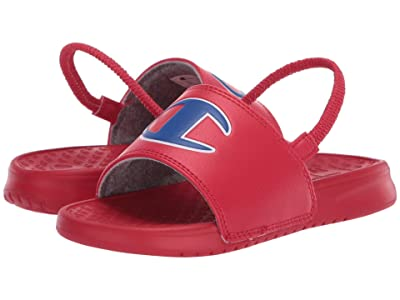 Champion Kids Super Slide (Toddler) (Red) Kids Shoes
