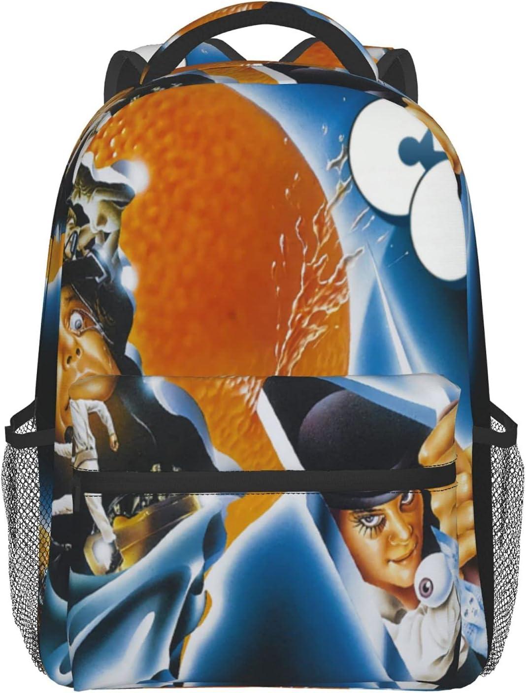Unisex Cute Lightweight Laptop Bag Bookbag Clockwork College San Jose Mall Ora Max 88% OFF