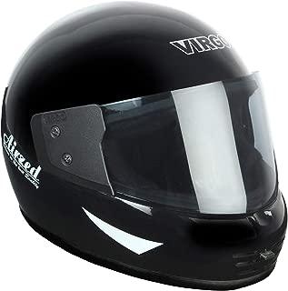 Virgo Helmet Airzed Glossy Finish Visor Tinted (Black)