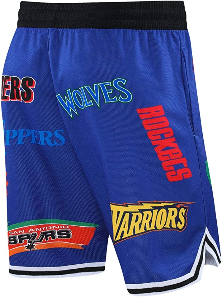 Auyz Mens Basketball Shorts Athletic Training Workout Shorts with Pockets for Youth Boys