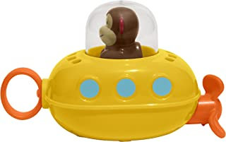 Skip Hop Pull & Go Monkey Submarine: Baby Bath Toy,...