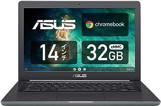 Chromebook クロームブック ASUS ノートパソコン 14.0型WXGA液晶 英語キーボード C403NA ブラック グーグル Google