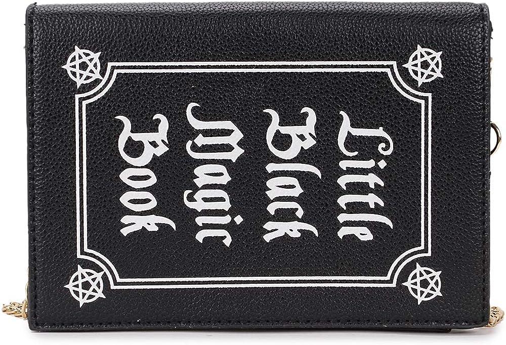 Max 50% OFF ENJOININ Magic Book Shaped Crossbody Bag Girls Pu for Women Teen Seasonal Wrap Introduction