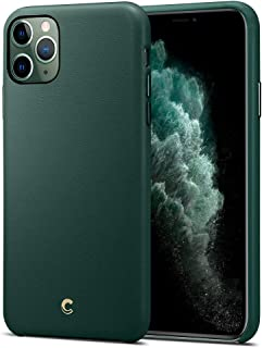 Ciel by CYRILL [Basic Leather Collection] Designed for Apple iPhone 11 Pro Case (2019) - Forest Green
