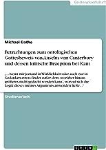 Best anselm von canterbury gottesbeweis Reviews