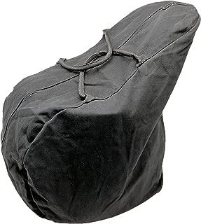 Tough-1 Canvas English Saddle Carrying Bag