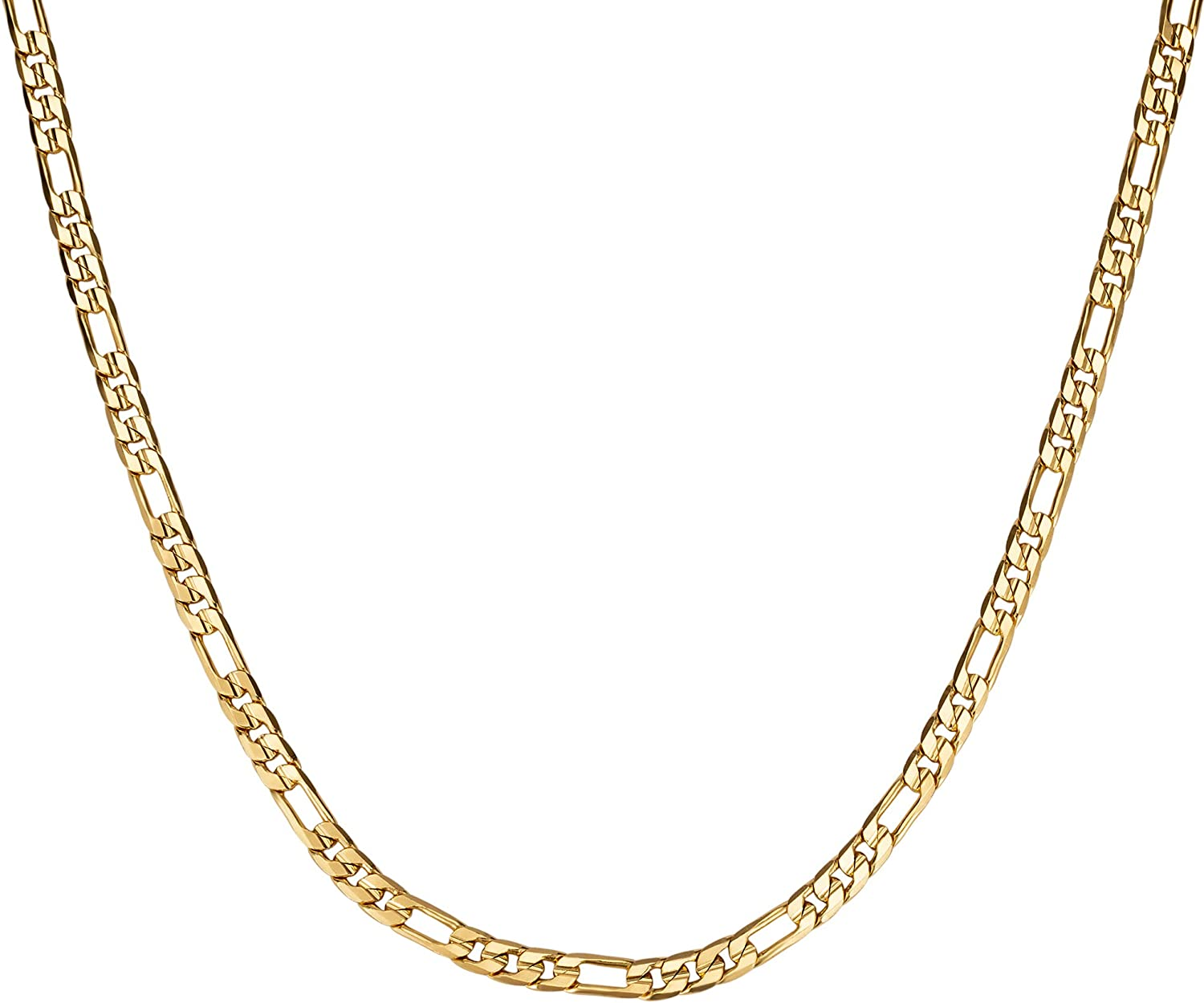 18K Gold Plated Ranking TOP18 Necklace for Women Max 86% OFF Men Fas Teens Boys