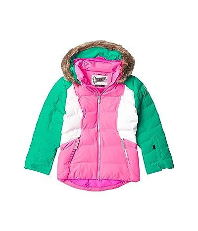 Spyder Kids Atlas Synthetic Down Jacket (Big Kids) (Bryte Bubblegum/Scuba) Girl