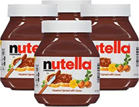 Nutella Chocolate Hazelnut Spread with Cocoa - 4 Pack, 4 x 750 g