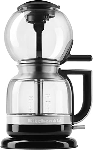 2021 KitchenAid KCM0812OB Siphon Coffee Brewer, Onyx high quality online Black, 2.3 online sale
