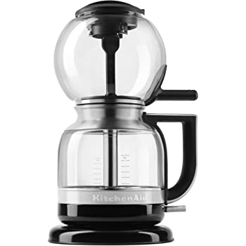 KitchenAid KCM0812OB Siphon Coffee Brewer, Onyx Black, 2.3