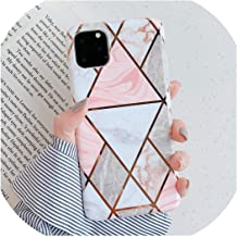 Blue Marble Case for iPhone 11 Pro Max XR X XS 6 S 6S 7 8 Plus Back Cover Splice Art Silicone Plating Phone Coque,for 6Plus or 6SPlus,0885 2