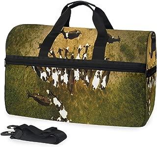 Gym Bag Goat Duffle Bag Large Sport Casual Fashion Bag for Men Women